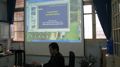 Photo: March 7 (Monday) workshop at Hanoi Institute of Technology
