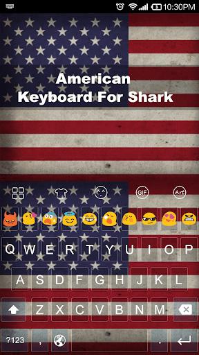 American -Love Emoji Keyboard