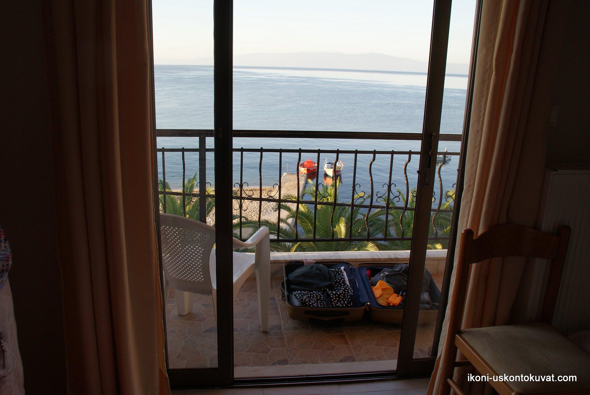 Photo: Ouranopoliksen hotelli