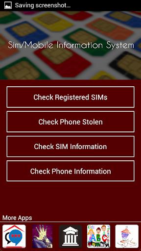 Pakistan Sim Information Apk apps 2