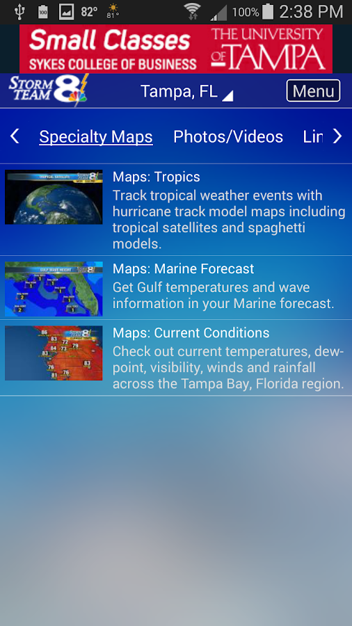 Storm Team 8 Weather MAX- screenshot