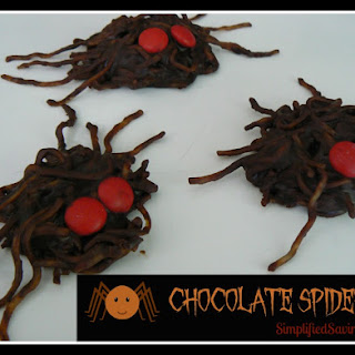 Chocolate Spiders {Don't Worry…They Aren't Really Spiders}.