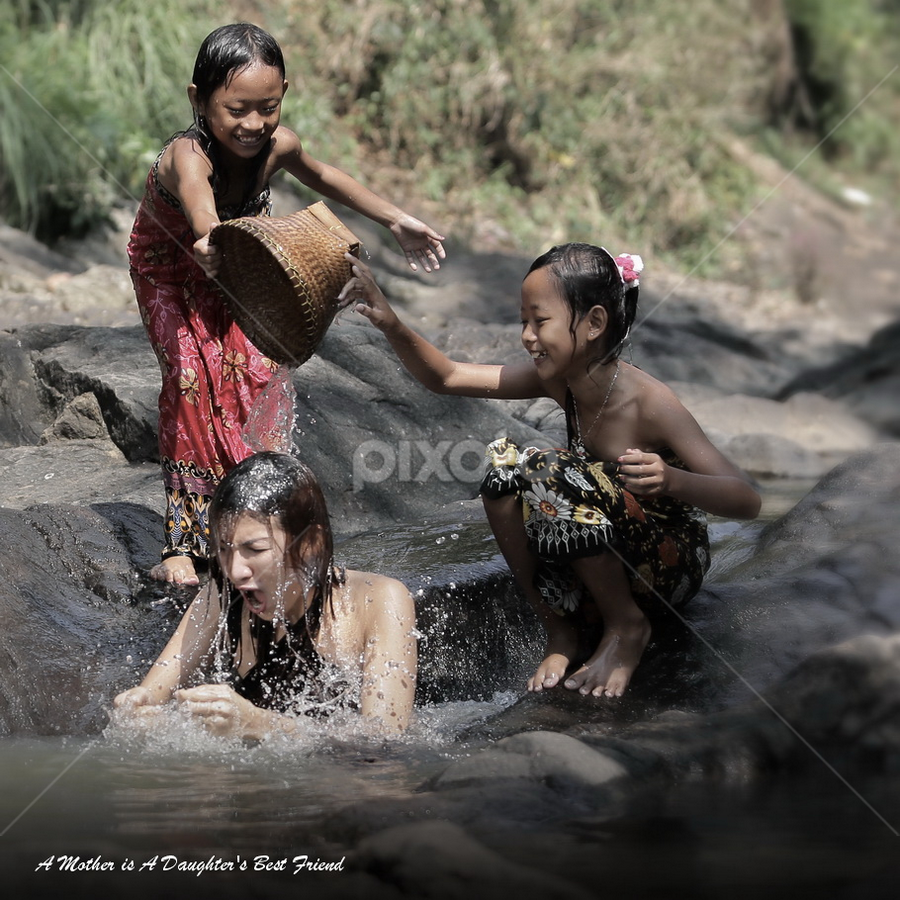 Best Friend  by DODY KUSUMA  - Captioned Photos Mother's Day ( indonesia, kids, mother's day, women, bestfriend, pwcmothers )
