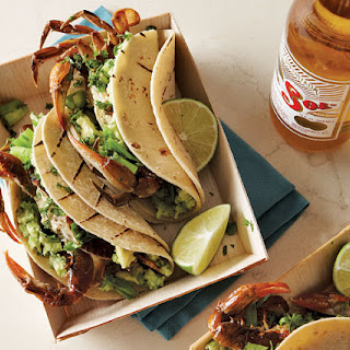 Grilled Soft-Shell Crab Tacos.