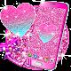 Pink glitter live wallpaper (app)