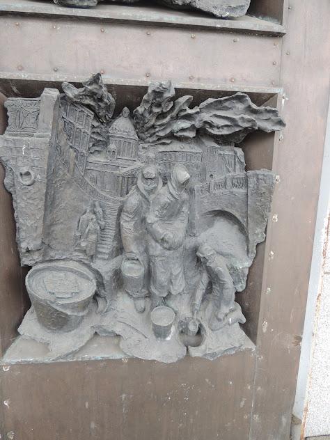 Ленинградские зарисовки. Панорама Прорыв блокады и Невский пятачок.