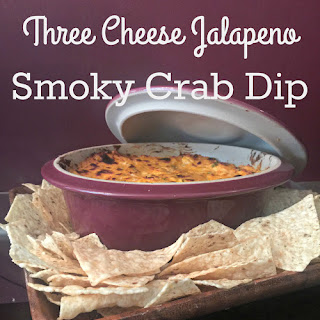 Three Cheese Jalapeno Smoky Crab Dip