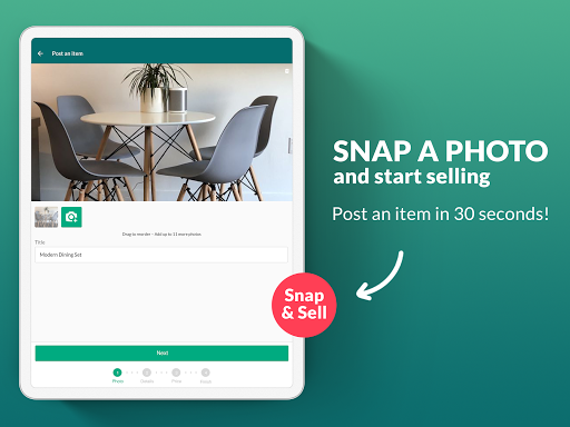 OfferUp: Buy. Sell. Letgo. Mobile marketplace screenshot 6