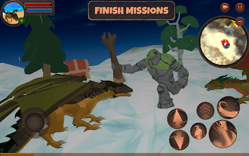 Dragon Simulator 3D: Adventure Game  Apk Download For Android and Iphone 3