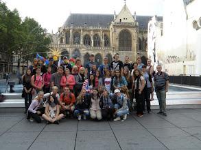 Photo: Druhý den jsme začali u Centre Pompidou