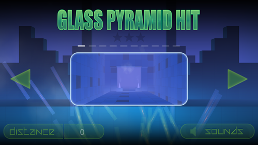 Glass Pyramid Hit  screenshots 1