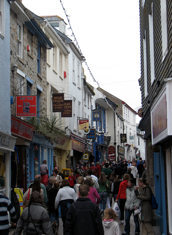 Photo: Rushhour in St Ives