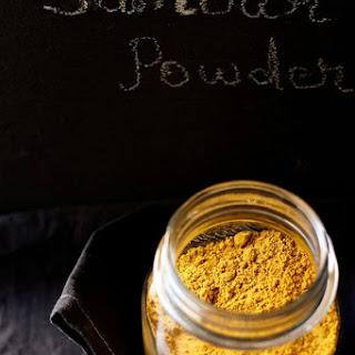 Homemade Sambar Powder.