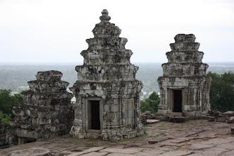 Photo: Year 2 Day 44 -  Towers of Phnom Bakheng