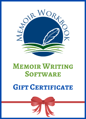 Memoir Writing Software Gift Certificate