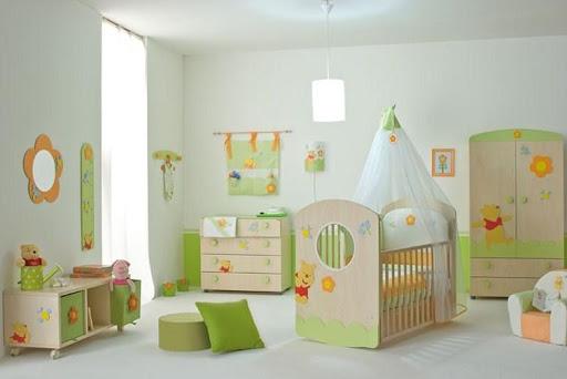 Cute Baby Room Design