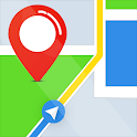 Free GPS Navigation, Traffic Route & Maps Tracker icon