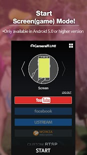 CameraFi Live - náhled