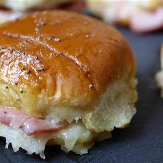 Ham and Cheese Sliders with Honey Mustard Recipe