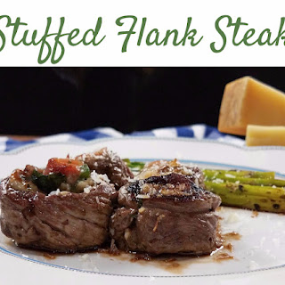 Melt in Your Mouth Stuffed Flank Steak.