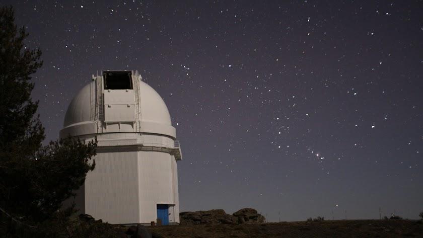 El observatorio de Calar Alto está en uno de los espacios menos contaminados.