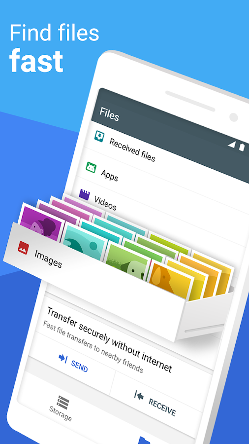 Files Go by Google: Free up space on your phone- screenshot