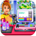 Grocery Store Cash Register icon