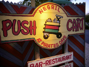 Photo: Be sure to take the sunset bar trip to Pushcart on the cliffside of Negril. It's free and organized by the resort.
