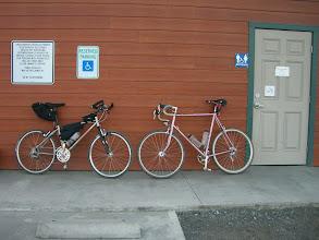 Photo: Steffen's on right, mine on left