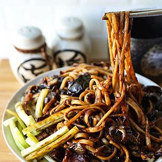 Vegan Black Bean Noodles Recipes.