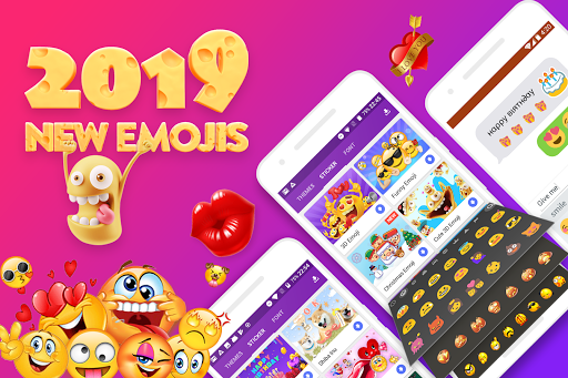 FunType: Emoji Keyboard, GIF, Emoji,Keyboard Theme 1.3.4 screenshots 1