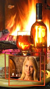 Wine Glass Photo Frames Screenshot