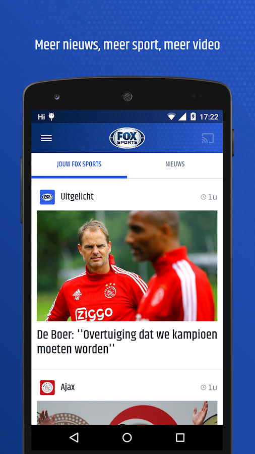 FOX Sports NL- screenshot