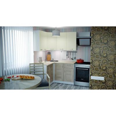 Кухонный гарнитур Камилла прайм 1200*1400