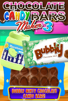... Chocolate Candy Bars 3 - Kids Candy Cooking Games poster ...
