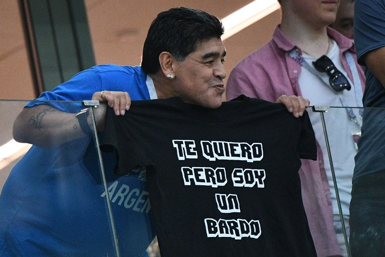 Diego Maradona calls for meeting with Argentina players