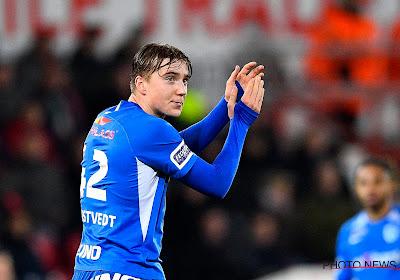Kristian Thorstvedt wil straks weer zijn plaats innemen bij Genk