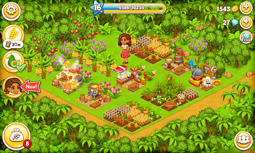 Farm Paradise: Fun farm trade game at lost island 1.78 screenshots 8