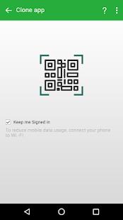 Clone App - web - náhled