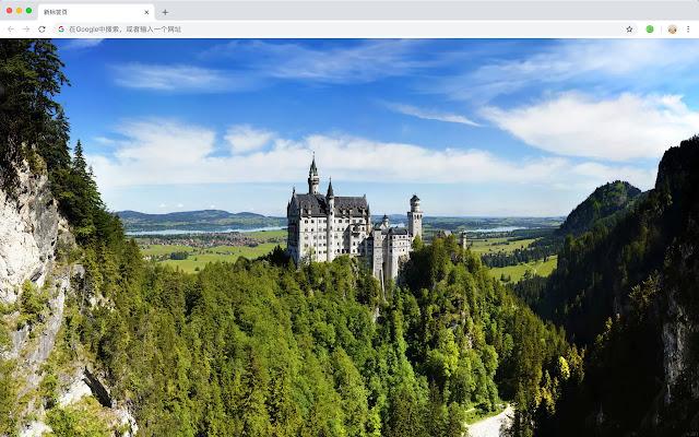歐洲古堡 新標籤頁 高清壁紙 流行建築 主題