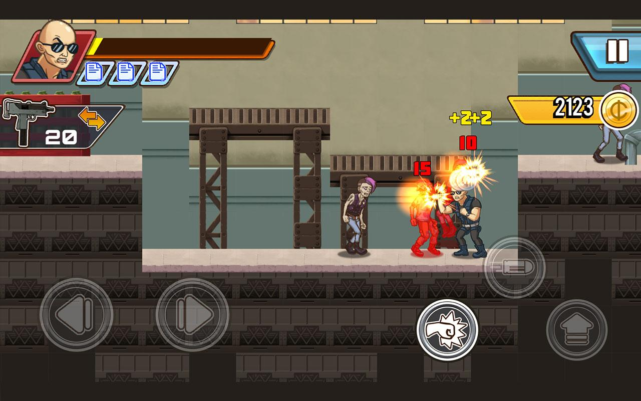 Fist of Rage: 2D Battle Platformer- screenshot