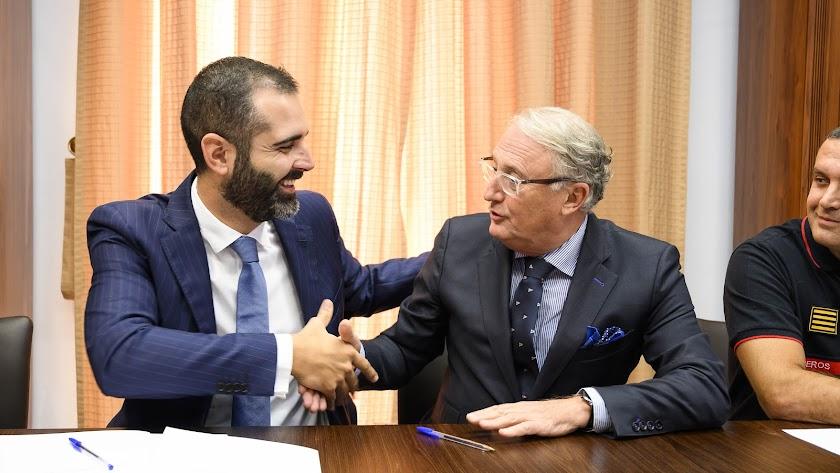Ramón Fernández-Pacheco y Jesús Caicedo