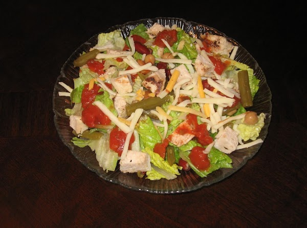 Easy Mexican Chicken Salad Recipe