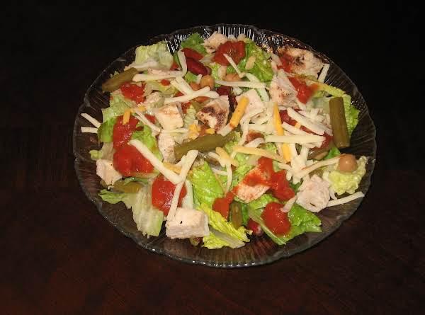 Easy Mexican Chicken Salad