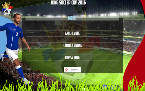 King Soccer Cup 2016- screenshot thumbnail