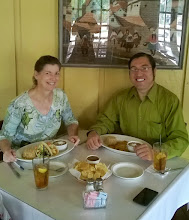 Photo: Lunch at Serrano's with Steven Gonzales 5/7/15