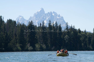 Photo: Rafting the Snake River in Grand Teton National Park, WY.