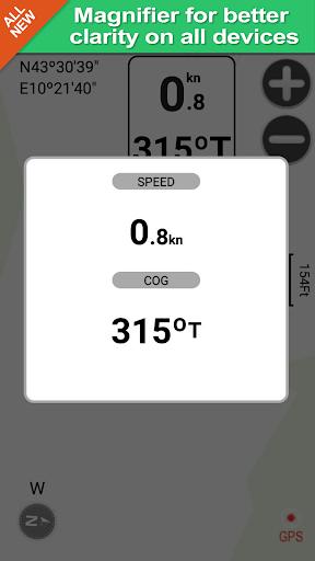 Cheesapeake gps map navigator app for Android screenshot