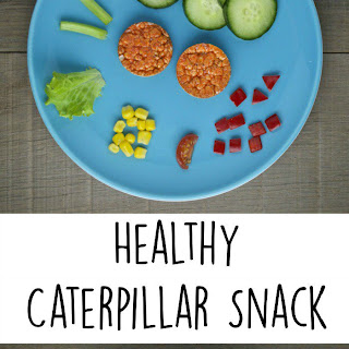 Healthy Caterpillar Snack for Kids.