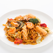 Seafood Noodle with Chilli sauce